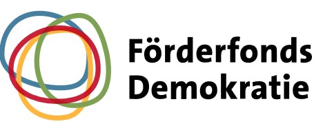 Logo des Förderfonds Demokratie